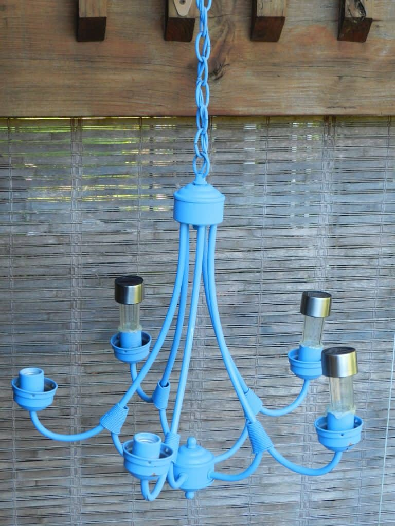 Lighten up your outdoors with a DIY Solar chandelier - Successes and Failures!
