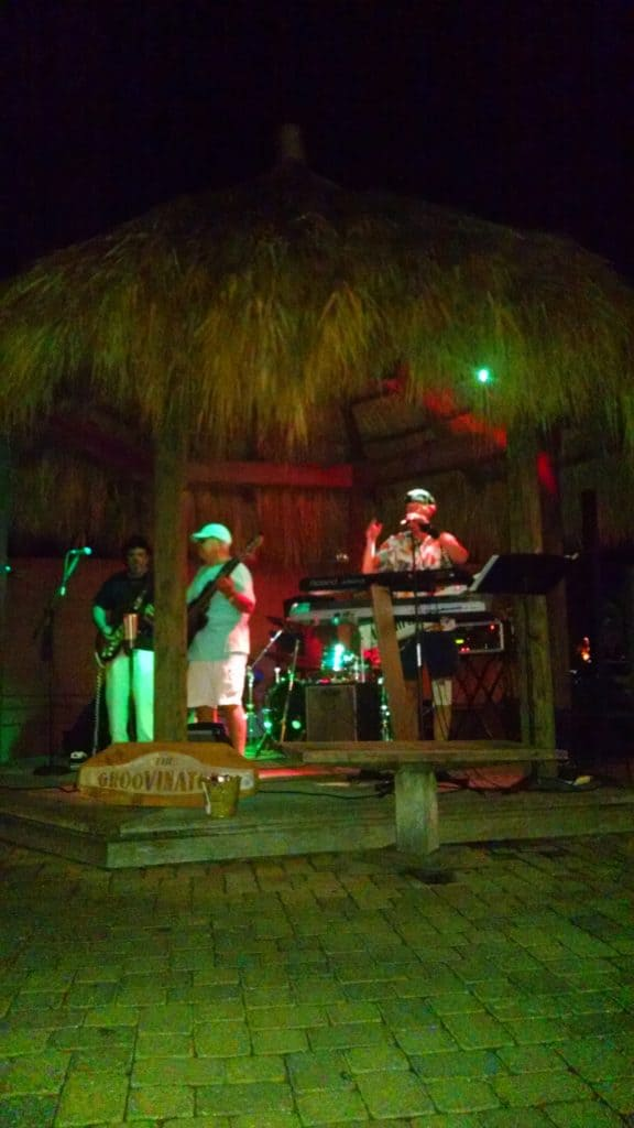 Dining and dancing at Cobalt on the coast in Alabama