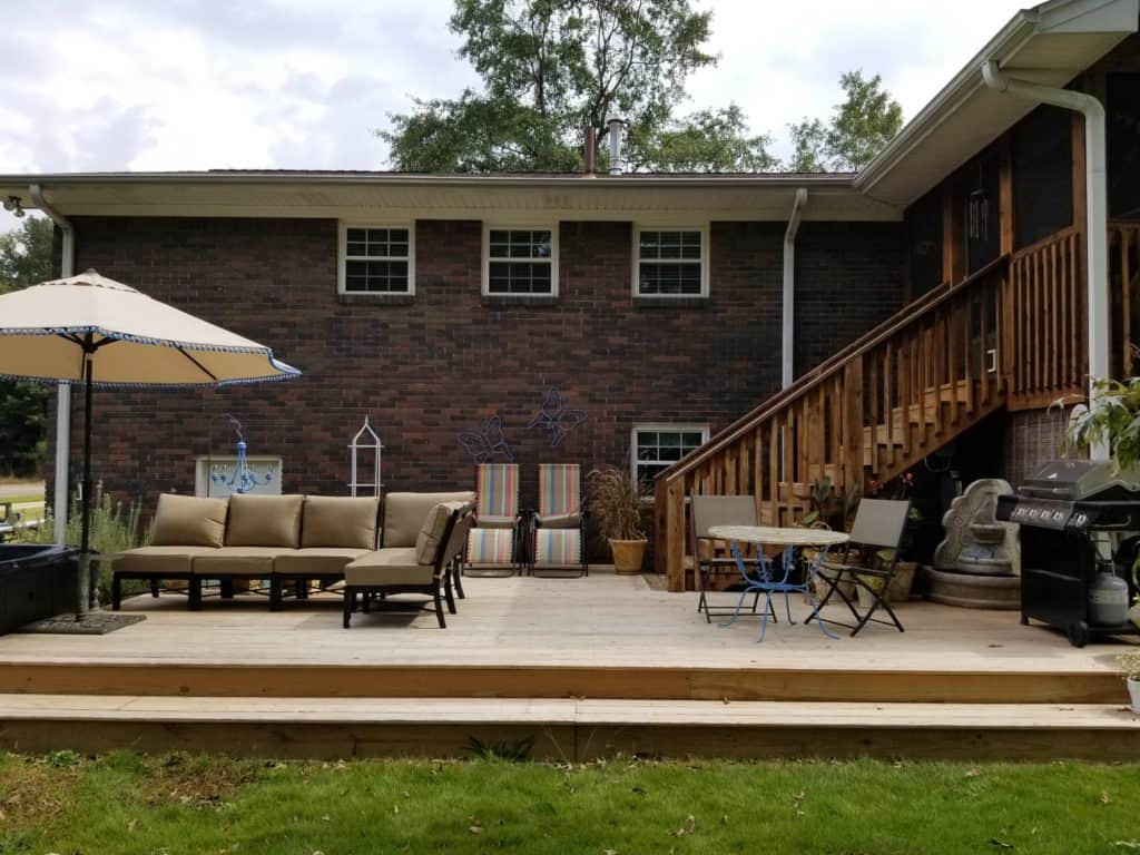 Deck Decor, Patio furniture, Outdoor furniture, Outdoor Sectional