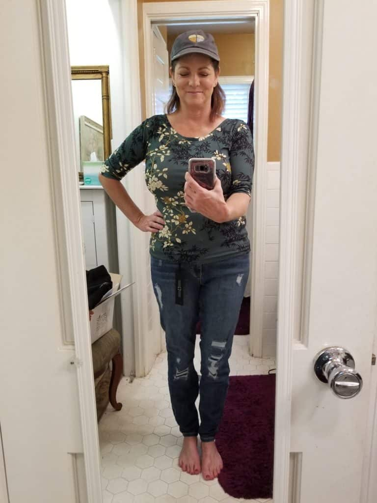 distressed jeans, natalie attired, styling service