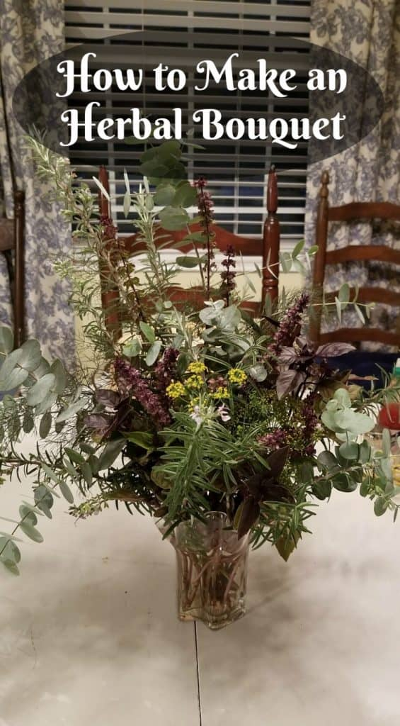How to Make an Herbal Bouquet
