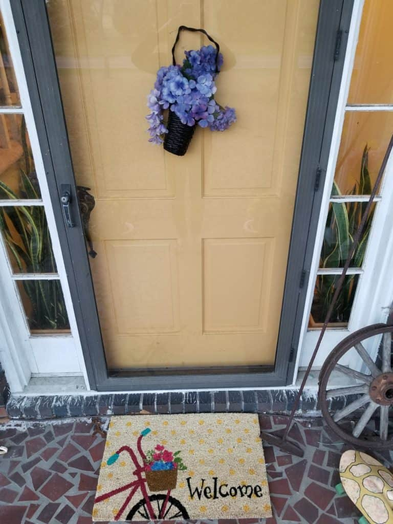 Bright Front Porch, Spring Front Porch,