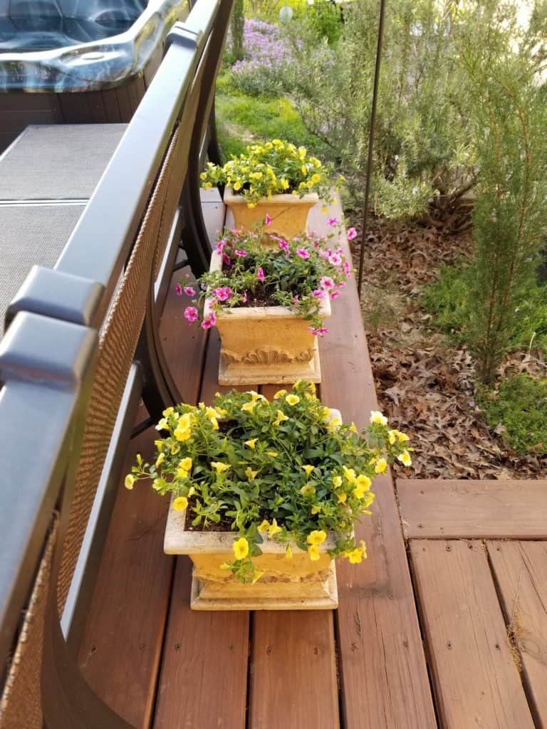 Planting Pots for your Deck