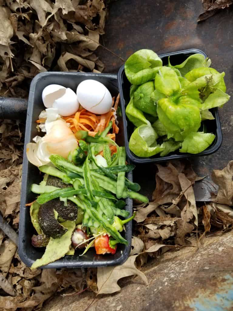 How to Begin Composting, Compost Pile Green Layer