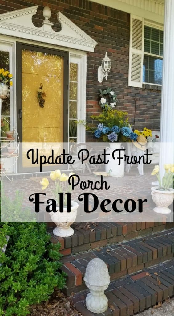Update Past Front Porch Fall Decor