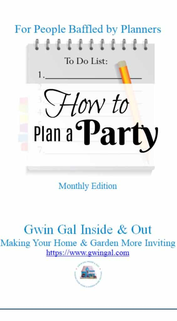 How to Plan a Party with The List Maker