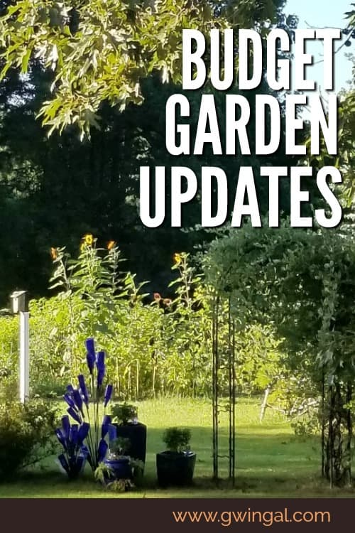 Updating your garden on a budget
